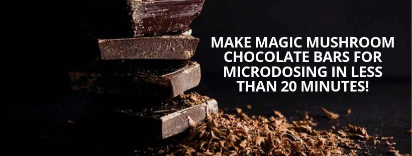 Top Magic Mushroom Chocolate Making Experts Reveal How To Make The BEST Chocolate Bars For Microdosing FAST… Even If You Suck In The Kitchen
